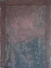003-037 post2011-rome-oil_sand_on_primed_paper_framed-100cmx80cm