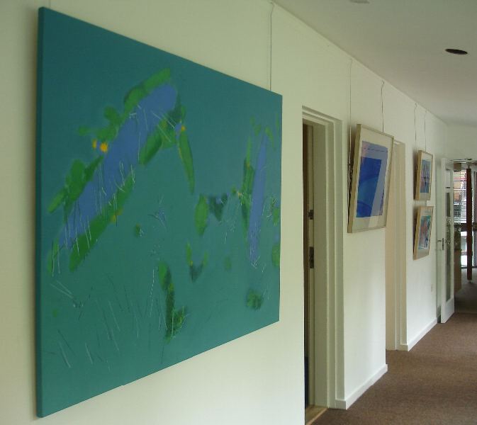 Clare Hall, Cambridge // Solo Exhibition