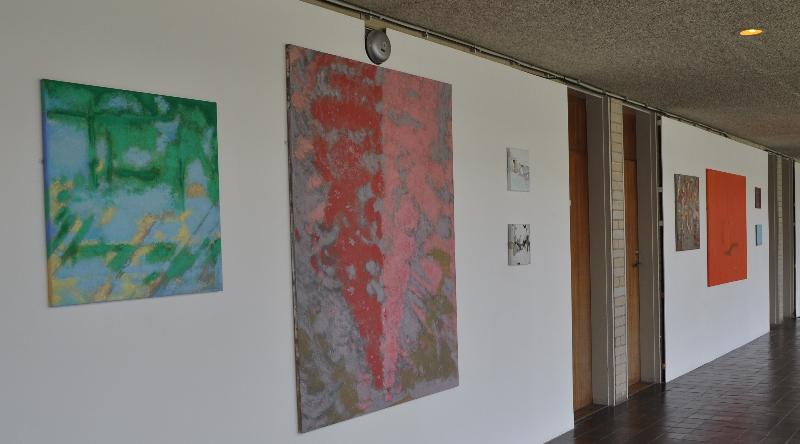 New Hall, Cambridge // Solo Exhibition